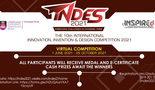INDES 2021 : EMBRACING CHALLENGES IN CHANGING TIMES