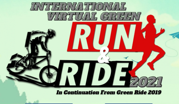 INTERNATIONAL VIRTUAL GREEN RUN & RIDE 2021