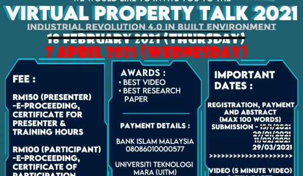 VIRTUAL PROPERTY TALK 2021